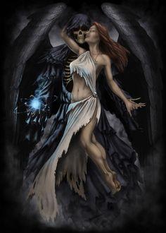 Death and the Maiden by AndrewDobell.deviantart.com on @deviantART
