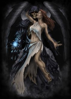 Death and the Maiden by AndrewDobell.deviantart.com on @deviantART