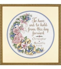 Create a beautiful cross stitched project with the Dimensions Counted Cross Stitch Kit. This cross stitch kit features a vintage design and comes with complete instructions and materials for beginners