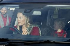 Autumn Phillips, wife of Peter Phillips the son of Anne, Princess Royal, pictured with their daughter Isla, three The Queens Children, Autumn Phillips, Queen 90th Birthday, Peter Phillips, English Royal Family, House Of Windsor, Prince Phillip, Princess Charlotte, Buckingham Palace