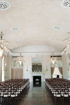 Modern New Haven Wedding from Michelle Lange Photography - wedding ceremony idea