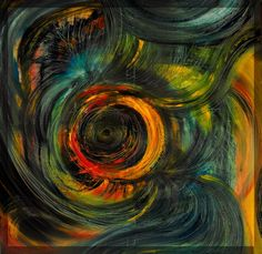 120cm/120cm oil on canvas