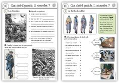 Life Lessons 346143921331444906 - ICM: le 11 novembre Source by French Teacher, Teaching French, Vocabulary Activities, Teaching Activities, Lessons Learned, Life Lessons, French Worksheets, Thing 1, Remembrance Day