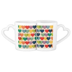 Happy Valentines Day Funny Colorful Hearts