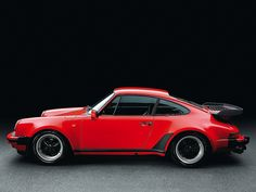 Porsche 911 Turbo 3.3 Coupé by Auto Clasico, via Flickr