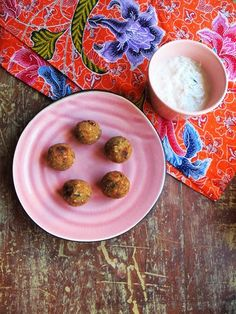 Falafel and tzatsiki