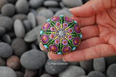 Summer Mandala Stone 16. Mandalaole.com