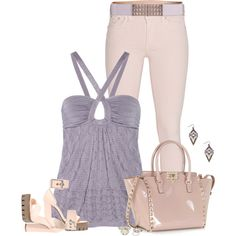 """""""* VALENTINO Tote & Jeans *"""" by dragonflyy86 on Polyvore"""