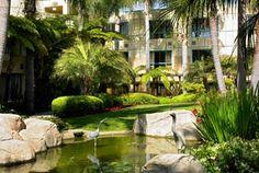 Sheraton La Jolla Hotel. A low-rise resort-style hotel conveniently located in La Jolla's business triangle in San Diego, California  #travel  #california