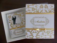 Caixa para agenda de noiva, seguindo o mesmo tema e decoração da agenda (caso também seja comprada), para a noiva arquivar e separar todos os documentos, orçamentos e detalhes para os preparativos do seu casamento.    O VALOR ACIMA REFERE-SE EXCLUSIVAMENTE A CAIXA.    Caixa em MDF, pintada na par...