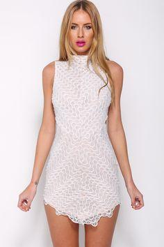 Headlights Dress, White, $65 + Free express shipping http://www.hellomollyfashion.com/headlights-dress-white.html