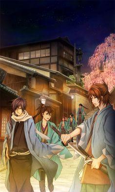 Hakuouki. The ending was kinda sad but predictable still a pretty good show♡