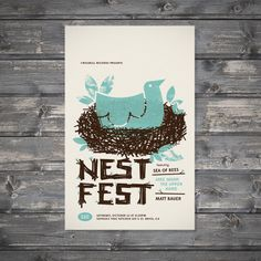 Nest Fest-great design, perfect colors