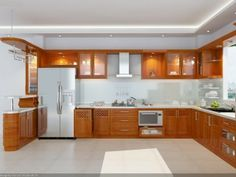 The One Thing to Do for Butterscotch Glazed Kitchen Cabinets - untoldhouse Kitchen Decor, Interior Design Kitchen, Home Decor Kitchen, Kitchen Design Open, Kitchen Room Design, Kitchen Modular, Kitchen Design, Modern Kitchen Cabinet Design, Kitchen Pantry Design