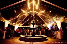 Clear top tent at Legare Waring House - Juliet Elizabeth Photography