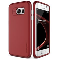 Original VRS Design Samsung Galaxy S7 Edge Handytasche in der Single Fit Edition Galaxy S7 Edge Flip Case Cover Blossom Red: Amazon.de: Elektronik 18,90€
