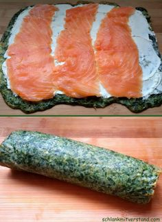 Spinat-Lachs-Rolle low carb Source by Related posts: Low Carb Spinat-Lachs-Rolle Low Carb Lachs-Spinat-Rolle kohlenhydratarme Spinat-Lachs-Rolle Low Carb Spinat Lachs Roll Healthy Dessert Recipes, Healthy Chicken Recipes, Salmon Recipes, Raw Food Recipes, Veggie Recipes, Low Carb Recipes, Vegetarian Recipes, Salmon Roll, Vegetable Soup Healthy