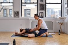 Restorative Yoga - Best for: Rest days, after a hard workout or for those dealing with injury or illness // What Type of Yoga is Right for Me?