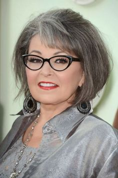 Not crazy about Roseanne but I love her cut and color!!!