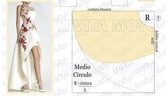 Pattern Dress, Dress Sewing Patterns, Fashion Sewing, Pattern Making, Pattern Fashion, Sewing Projects, Crafty, Outfits, Ideas