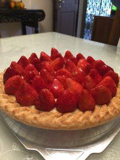 Yummy strawberry pie from my bf