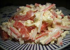 Как приготовить салат красное море - рецепт, ингридиенты и фотографии