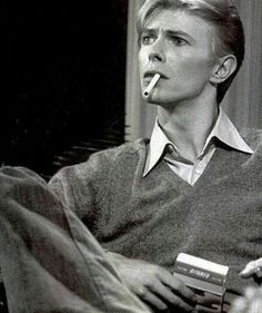Time takes a cigarette and puts it in your mouth. - DAVID BOWIE | lovedavidbowie