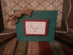 4x6 distressed wood Frames by JWCreations22 on Etsy