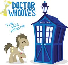 whats great is my dr who my little pony shirt with this guy on it. i'm a nerd :D Doctor Whooves, Little Poney, My Little Pony, Nightmare Moon, Mlp Fan Art, Screwed Up, Dr Who, Tardis, Nerdy