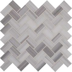 MS International Greecian White Herringbone Pattern 12 in. x 12 in. x 10 mm Polished Marble Mesh-Mounted Mosaic Tile (10 sq. ft. / case)-SMOT-GRE-HBP - The Home Depot