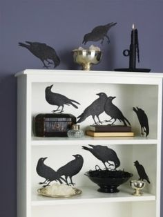 mantle idea for Halloween