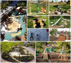 Awesome Outdoor Montessori School Environments