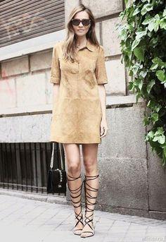 Замшевая одежда — модный тренд | Suede clothes - fashion trend