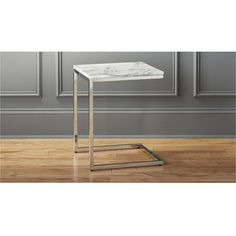 smart marble top c table | CB2