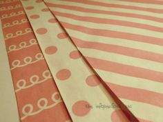 50 Big Bitty Bags Pink Variety Kraft Large Flat Paper Bag Gift Wrap Whisker Graphics on Etsy, $11.99