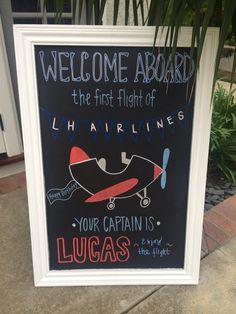 Dazzling Vintage Aircraft: The Major Attractions Of Air Festivals Vintage Airplanes Airplane Birthday chalkboard sign Planes Birthday, Baby Boy 1st Birthday, Boy Birthday Parties, Birthday Fun, Airplane Birthday Themes, Birthday Signs, Birthday Ideas, Time Flies Birthday, 1st Birthday Chalkboard