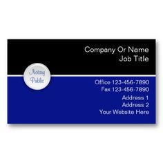 25 best notary public business cards images on pinterest business notary business cards reheart Images