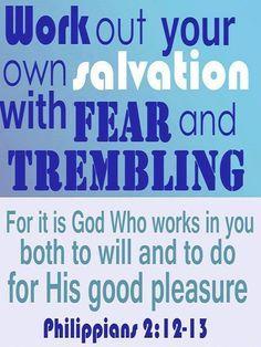 Image result for Philippians 2 12 kjv