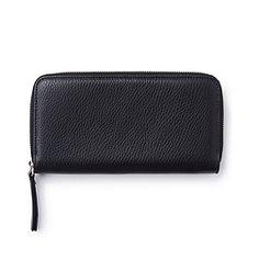 Leather Purse - Black