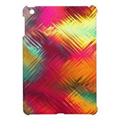 Tropical Abstract Cover For The iPad Mini