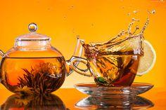 Dzbanek, Herbata, Szklanka