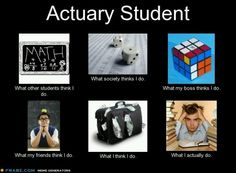 To study acturial science