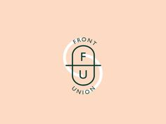 Another one for Front Union. Playing around with shapes and colours. Love the cheeky FU