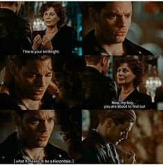 My heart almost broke when she told him 'my boy'. This was such a beautiful scene. Finally, Jace knows his real name. #Shadowhunters