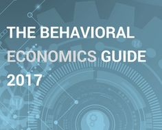 The latest behavioral science ideas, applications and resources. With contributions by Cass Sunstein and leading practitioners. Behavioral Economics, Behavioral Science, Service Design