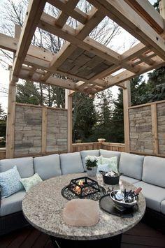 100 Gartengestaltung Bilder Und Inspiriеrende Ideen Für Ihren ... Caprice Unopiu Eisen Rankgitter Sichtschutzzaun