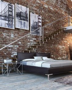Loft Industrial, Industrial Interiors, Rustic Interiors, Industrial Design, Industrial Apartment, Urban Rustic, Modern Rustic, Decoration Inspiration, Interior Design Inspiration