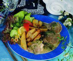 Görög (kapros) bárányragu tepsis burgonyával – Receptletöltés