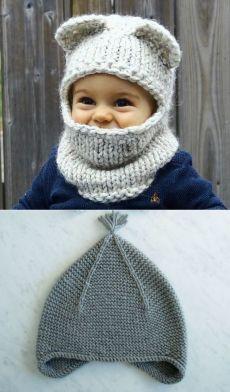 Шапочка для мальчика: как связать спицами? Описание вязание детской шапочки и шапочки для новорожденного | LS несколько