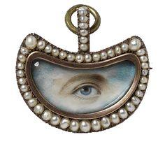 Lover's Eye Miniature - Antique Jewelry University